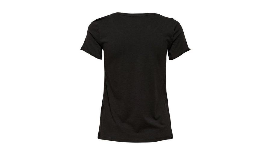 Only Print- T-Shirt Erstaunlicher Preis Günstiger Preis Rabatt Aaa Begrenzt Rabatt Verkauf 6tC3H5E