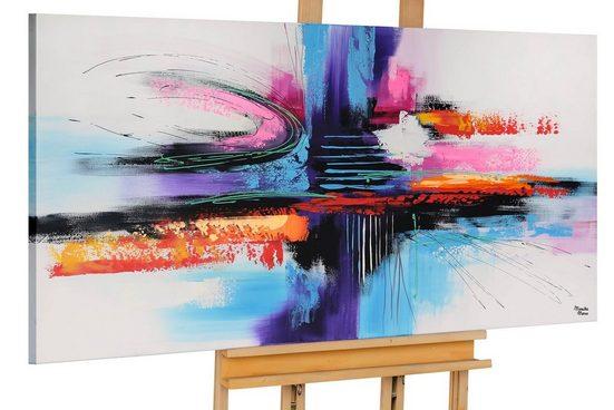 KUNSTLOFT Gemälde »Paths to other Worlds«, handgemaltes Bild auf Leinwand