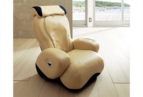 Massagesessel in beige