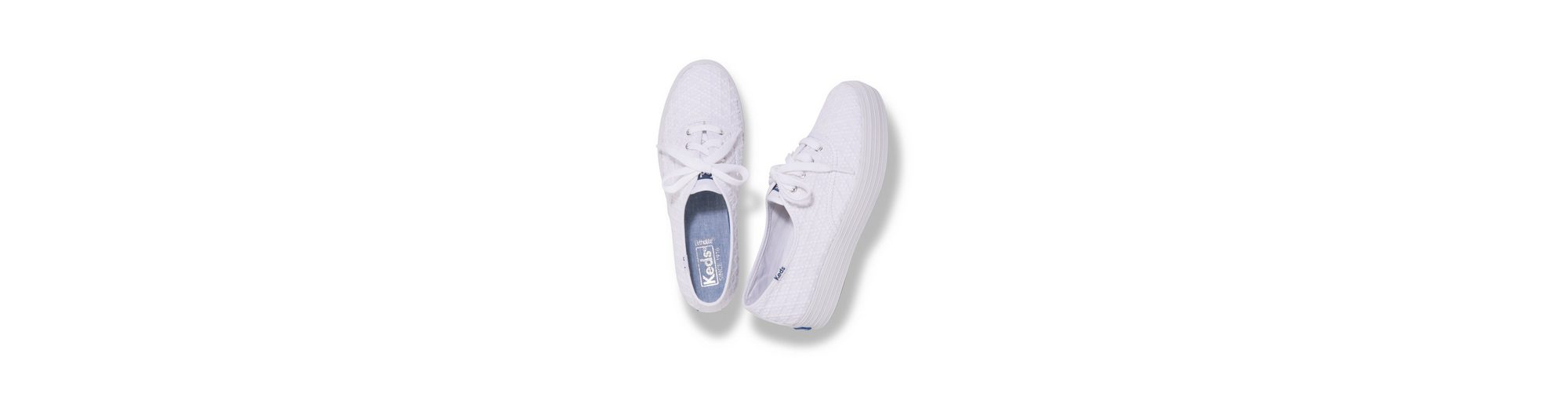 Plateausneaker Embroidered Embroidered Keds Triple Keds Triangle Triple wP7vC4nq