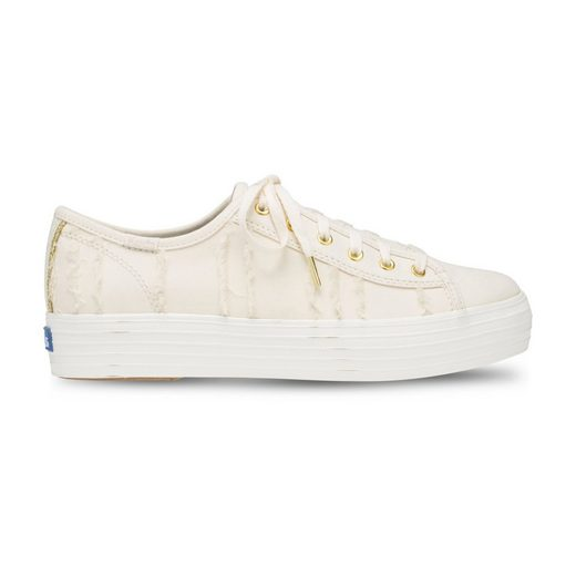 Keds Triple Kick Eyelash Canvas Plateausneaker