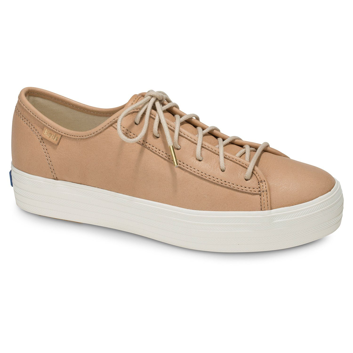 Keds Triple Kick Leather Plateausneaker kaufen  beige