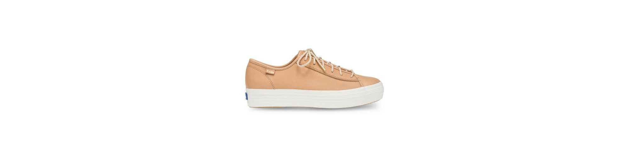 Keds Triple Kick Leather Plateausneaker Auslass Gut Verkaufen nbumEhO5jO