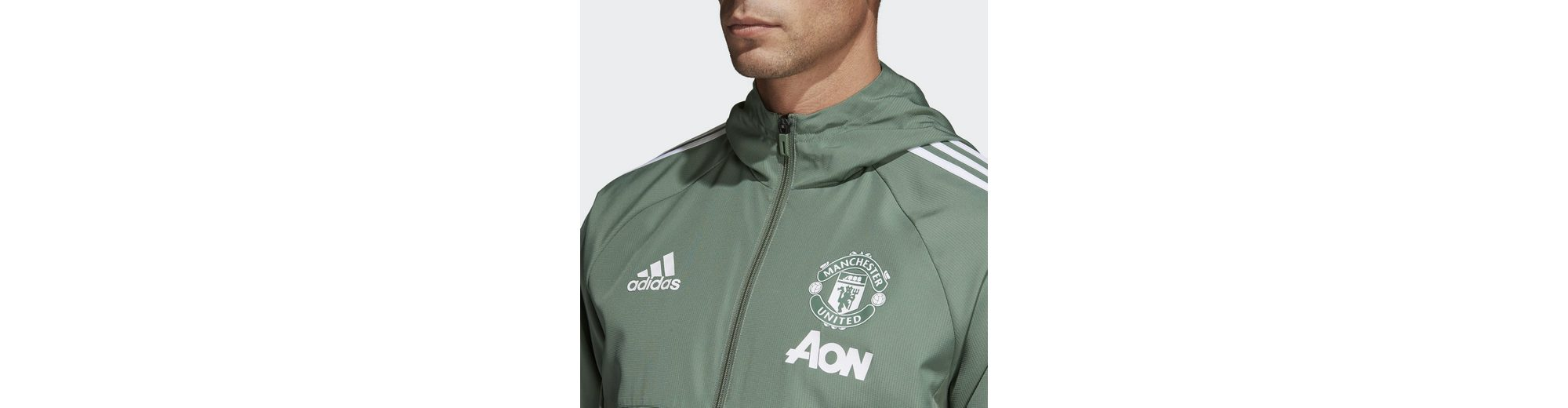 adidas Performance Funktions-Kapuzensweatjacke Manchester United Outlet Factory Outlet JOFs37Hzks