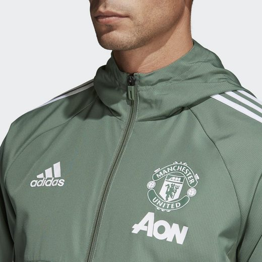 adidas Performance Funktions-Kapuzensweatjacke Manchester United