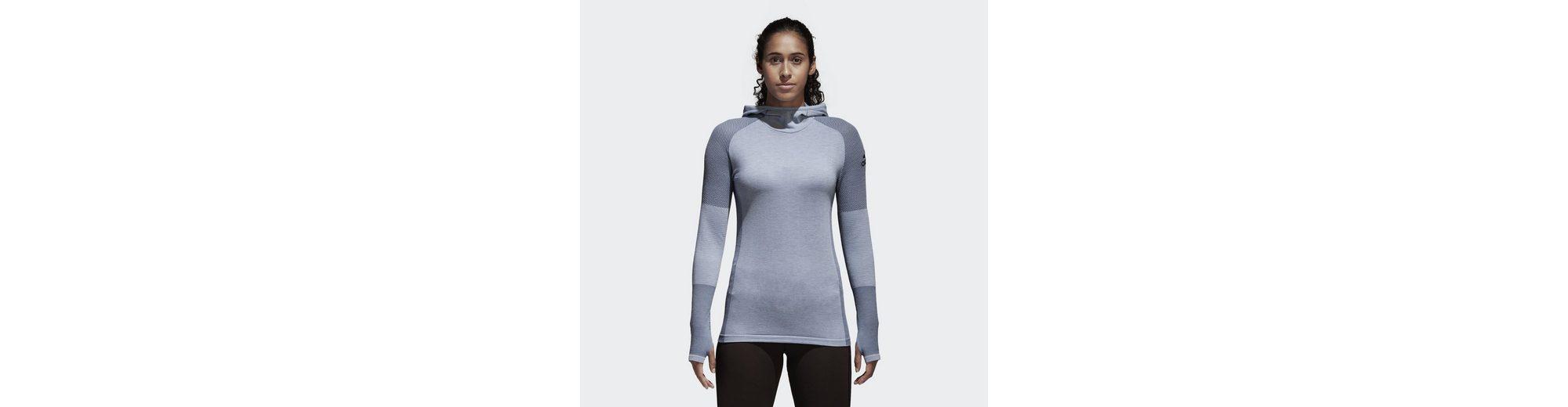 adidas Performance Sporttop Climaheat Primeknit Hooded Longsleeve Verkauf Wirklich Verkauf Perfekt Kaufen Mj3clVCFQS