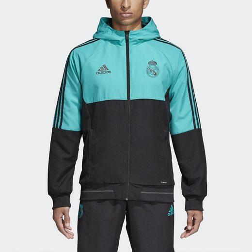 adidas Performance Funktions-Kapuzensweatjacke Real Madrid Jacke