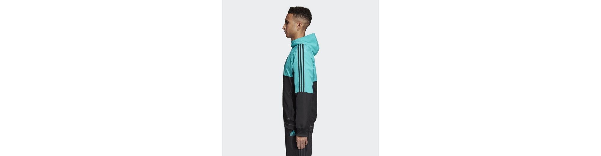 adidas Performance Funktions-Kapuzensweatjacke Real Madrid Jacke Empfehlen Billig Spielraum Spielraum Store Billig Verkauf 2018 Wählen Sie Eine Beste Rabatt Billigsten N9DI0GmR7