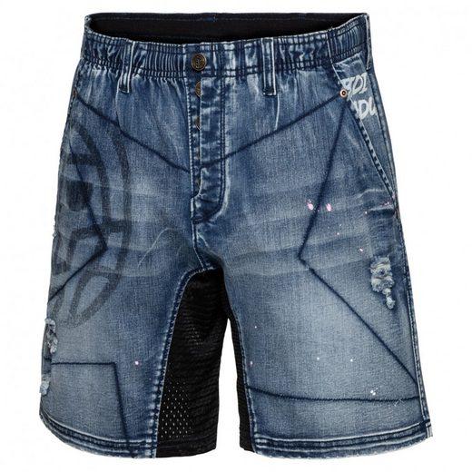 BIDI BADU 2in1-Shorts mit Retro-Design