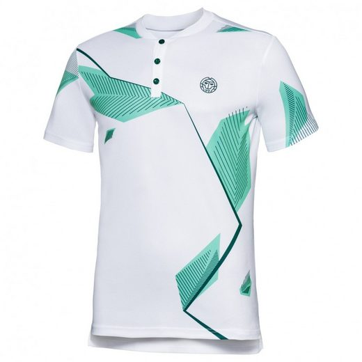 BIDI BADU Poloshirt mit Allover-Print
