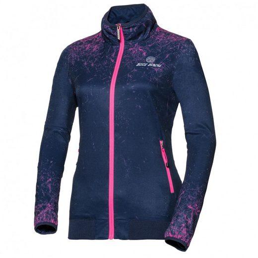 BIDI BADU Trainingsjacke mit Label-Stitching