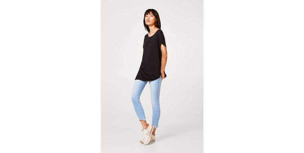 Shirt Asymmetrischem Mit Softes Esprit Saum O5qtZxw