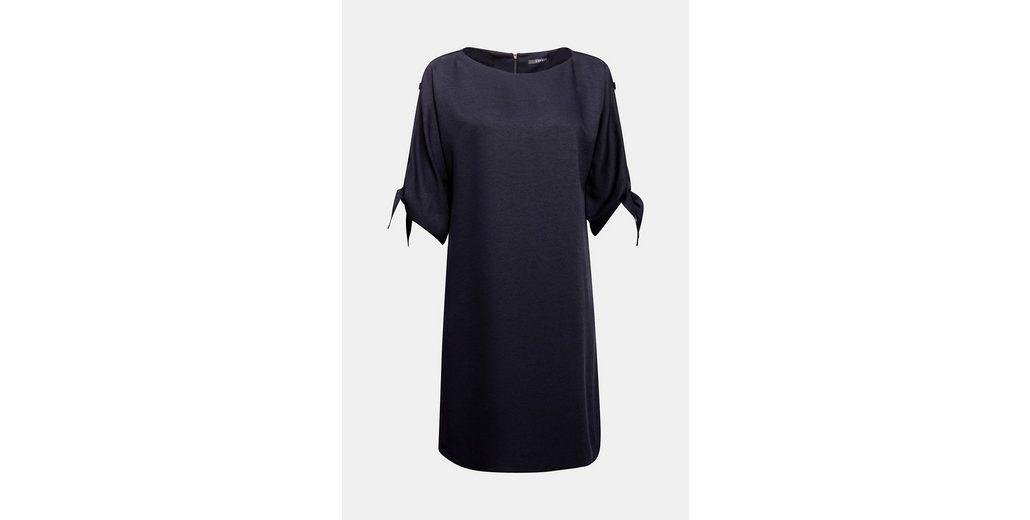 Günstig Kaufen Erschwinglich Günstig Kaufen Verkauf ESPRIT COLLECTION Struktur-Kleid mit verzierten Ärmeln xTDbElGa