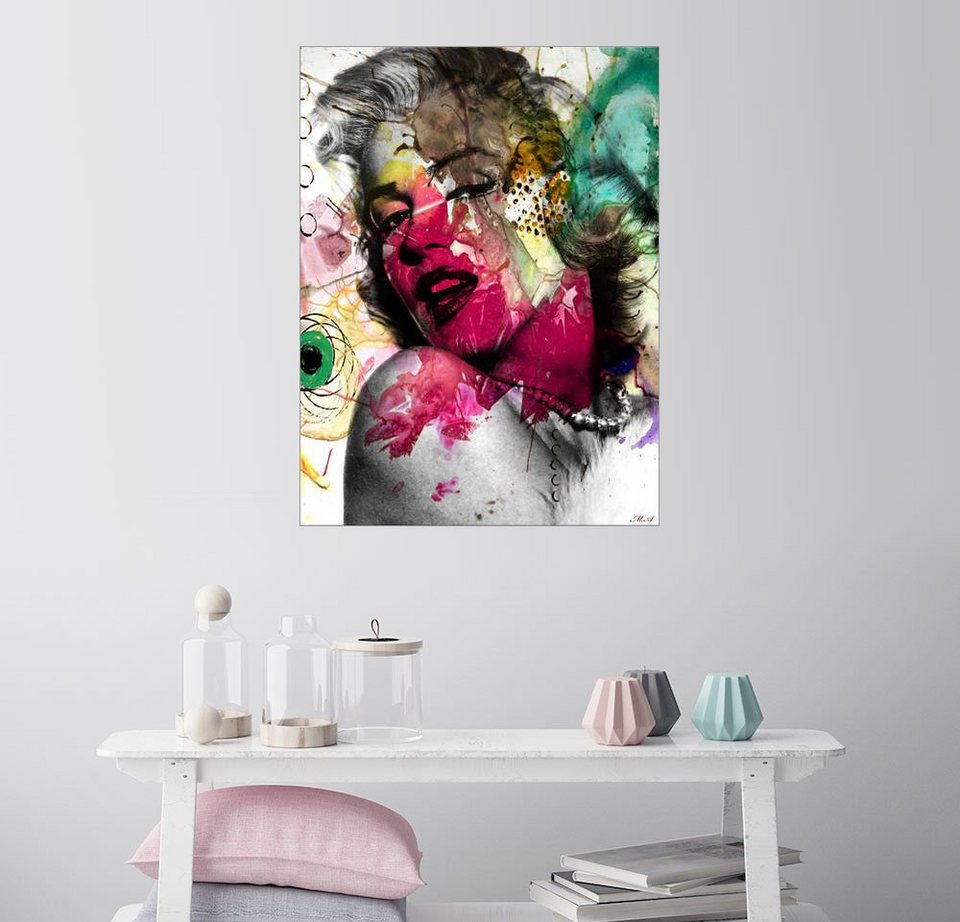 posterlounge wandbild mark ashkenazi marilyn monroe. Black Bedroom Furniture Sets. Home Design Ideas