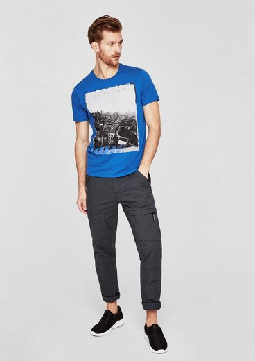 s.Oliver RED LABEL T-Shirt mit Fotoprint