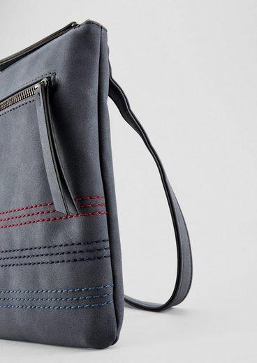 S Label oliver Bag Red Mit City Ziernähten EqERrZ8