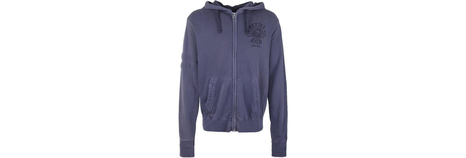 Better Rich Sweatjacke HOODED UNIVERSITY, Inside-Out-Nähte