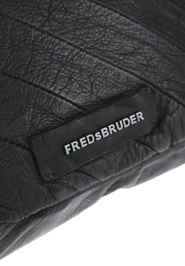 FREDsBRUDER Schultertasche ZEBRA STRIPE, Logo