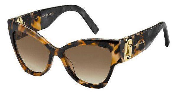 MARC JACOBS Marc Jacobs Damen Sonnenbrille » MARC 109/S«, schwarz, 2T1/9O - schwarz/grau
