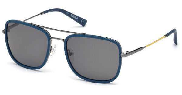 Timberland Herren Sonnenbrille » TB9119«, blau, 92D - blau/grau