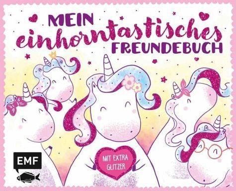 Gebundenes Buch »Mein einhorntastisches Freundebuch (Einhorn...«