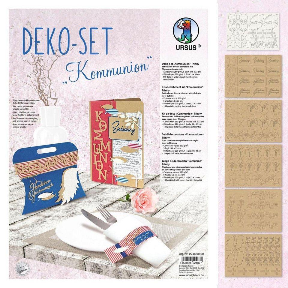 """URSUS Deko-Set """"Kommunion"""" 6 Blatt online kaufen"""
