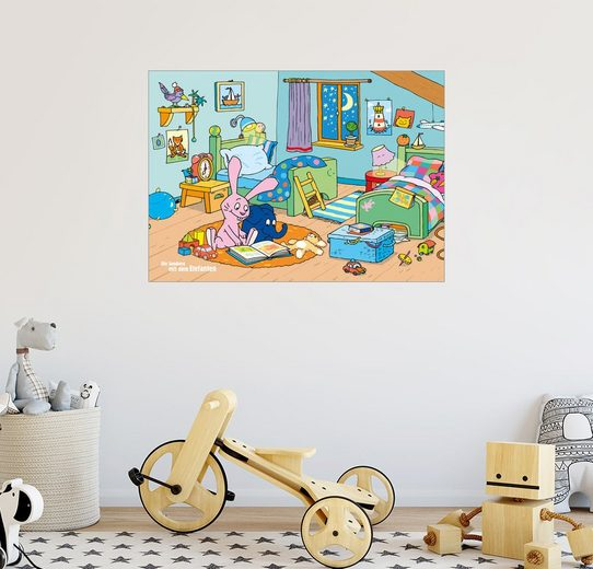 Posterlounge Wandbild »Komm, wir lesen ein Buch«