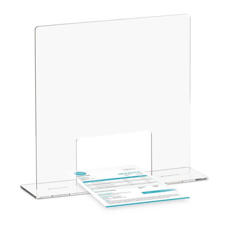 relaxdays Schutzwand »Spuckschutz Acrylglas«, A