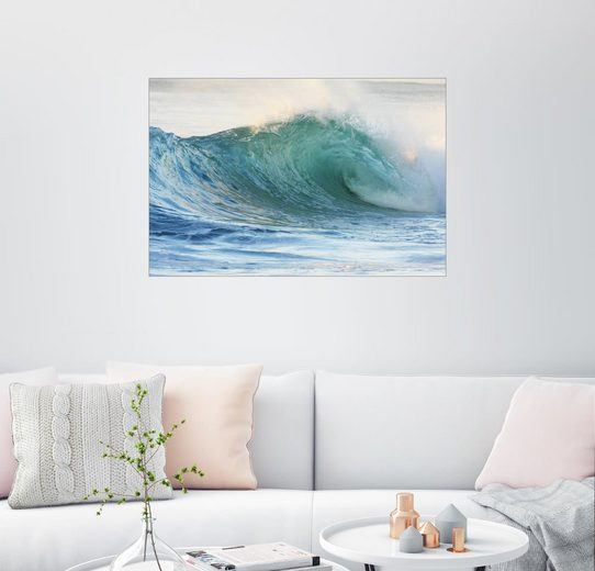 Posterlounge Wandbild - Vince Cavataio »Glänzende Welle«
