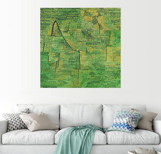 Posterlounge Wandbild - Paul Klee »Entlegene Landschaft«
