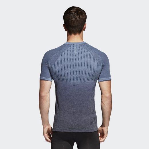 adidas Performance T-Shirt Primeknit Wool Dip-Dye T-Shirt