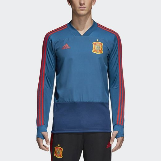 adidas Performance Footballtrikot Spanien Trainingsoberteil
