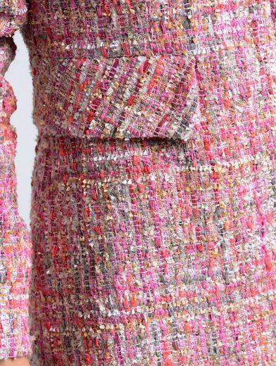 Alba Moda Longblazer in sommerlichem Multicolor-Farbmix
