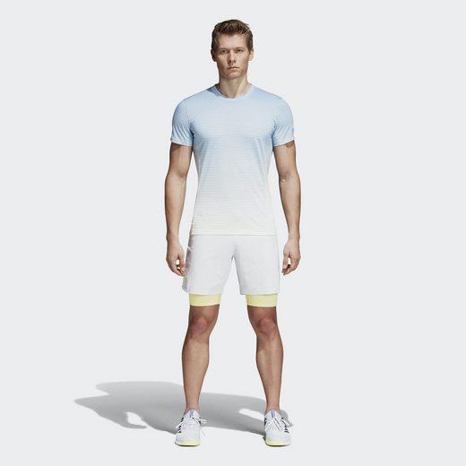 Adidas Performance T-shirt Melbourne Striped T-shirt