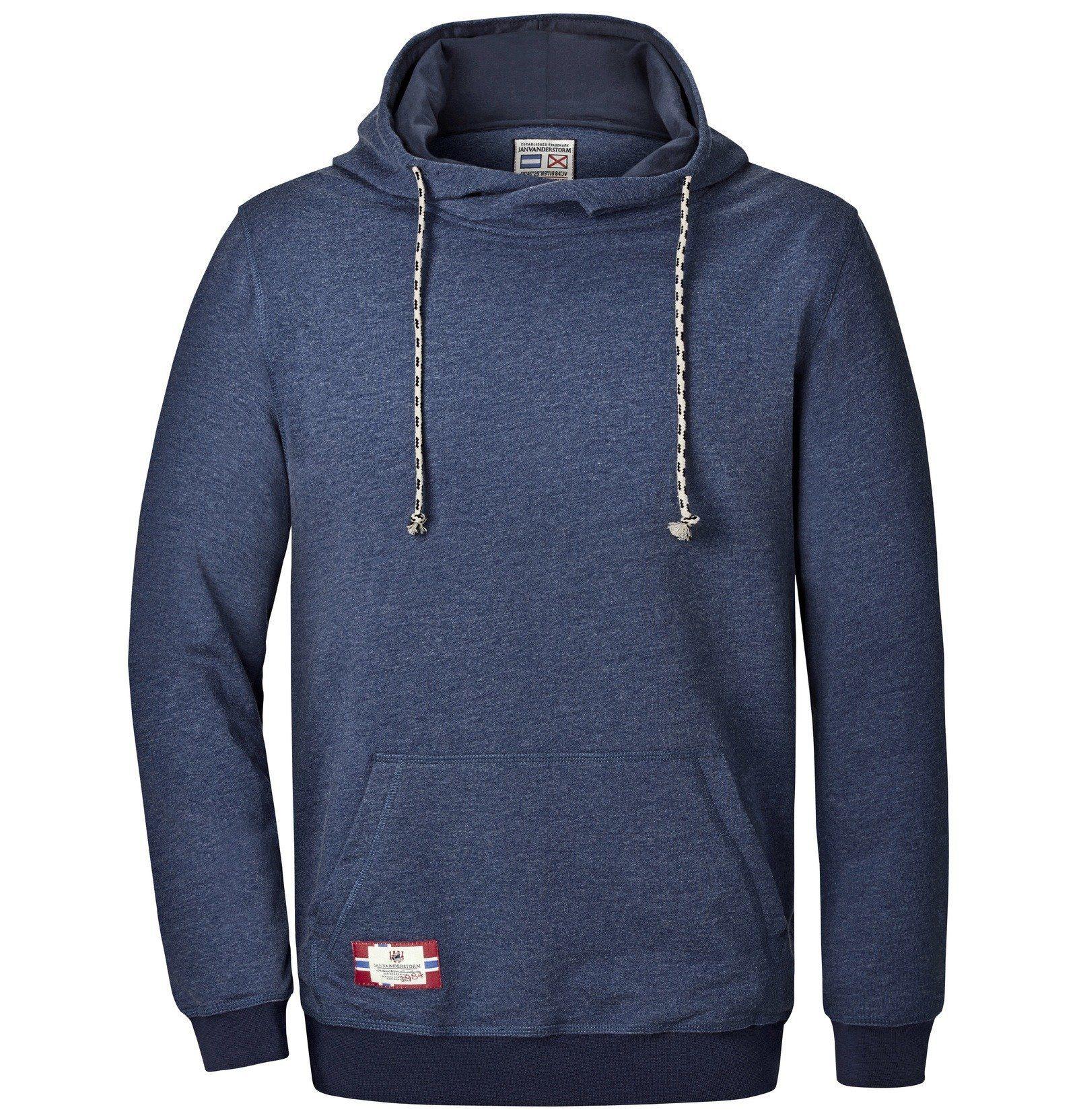 Jan Vanderstorm Kapuzensweatshirt »BLANKARD« mit asymmetrischem Kragen