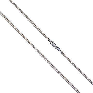 Vivance Collier »925/- Silber Panzerkette diamantiert«