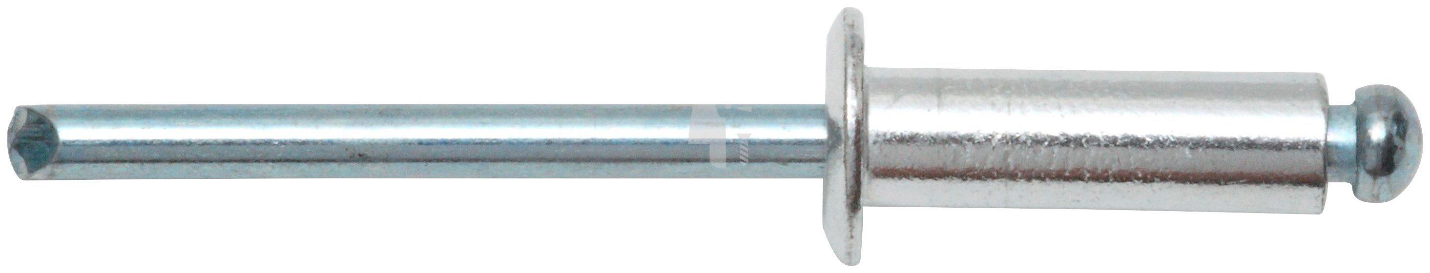 RAMSES Blindnieten , 6 x 12 mm Alu/Stahl 250 Stück