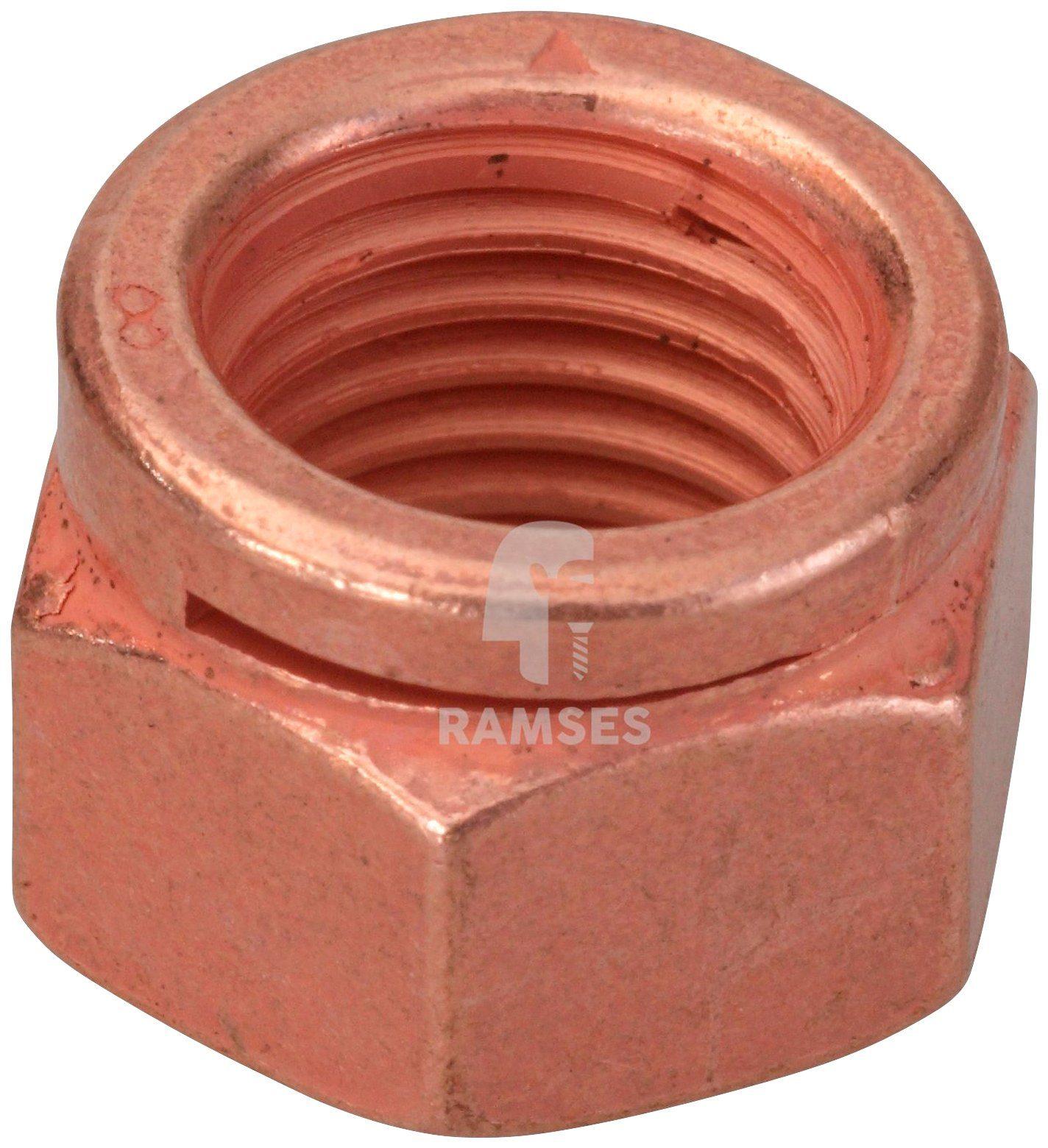 RAMSES Kupfermutter , Auspuff 14441 M12 SW17