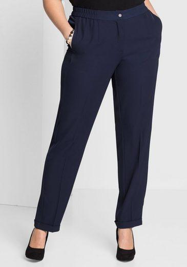 sheego Style Bundfaltenhose