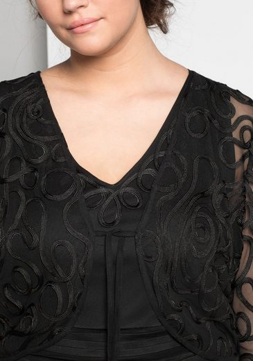 sheego Style Bolero, transparent