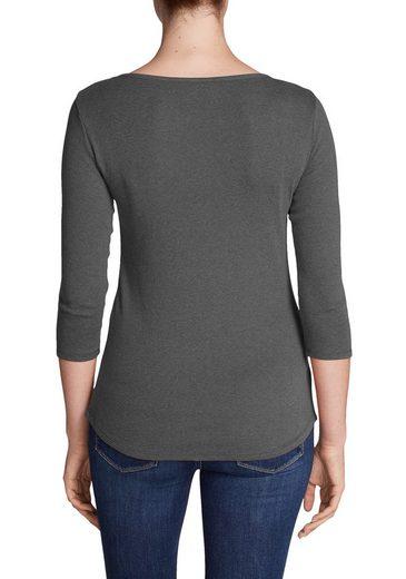 Eddie Bauer Favorite Shirt - Cutout Y-3/4-arm With - Uni