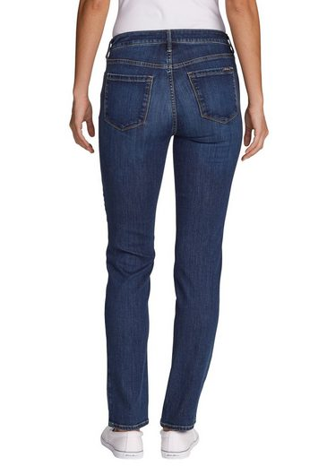 Curvy Straight Rise Slightly Jeans Eddie High Leg Bauer Slim Elysian wfBzIq