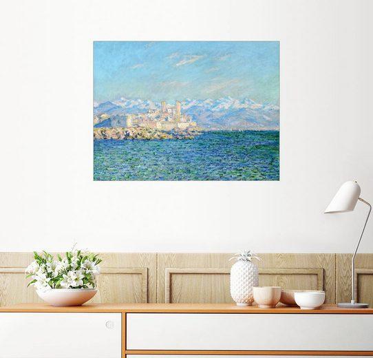 Posterlounge Wandbild - Claude Monet »Fort in Antibes«