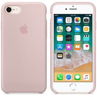 APPLE iPhone 8 / 7 Silikon Tasche »Hintere Abdeckung für Mobiltelefon«