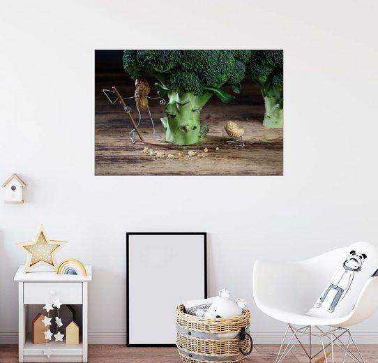 Posterlounge Wandbild - Nailia Schwarz »Simple Things Seltsame Vögel«