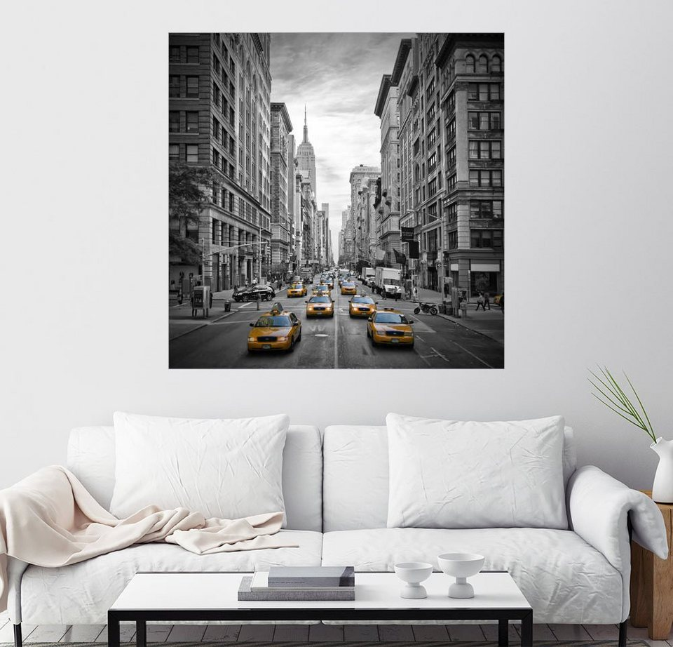 posterlounge wandbild melanie viola new york city 5th avenue verkehr online kaufen otto. Black Bedroom Furniture Sets. Home Design Ideas