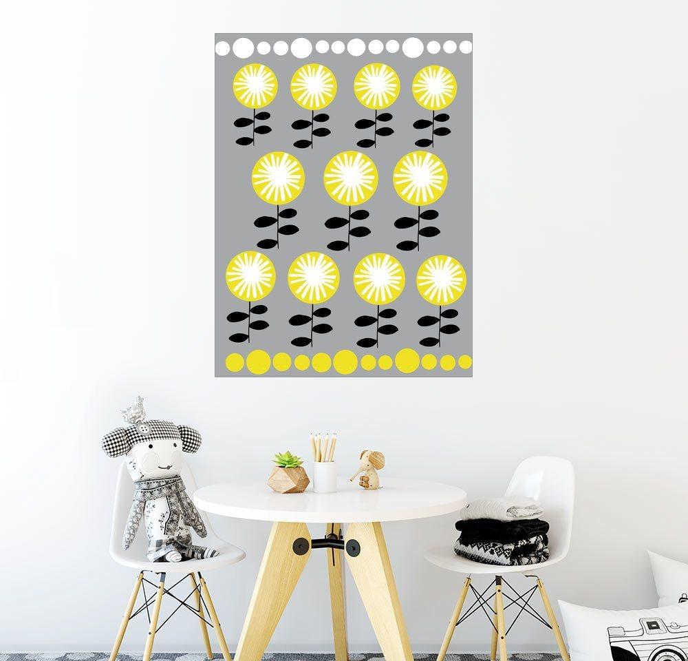 Posterlounge Wandbild - Anne Vasko »Blumen« | Dekoration > Bilder und Rahmen > Bilder | Holz | Posterlounge