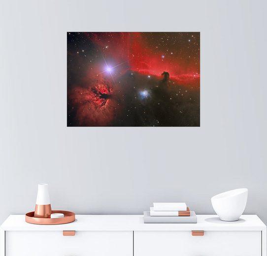 Posterlounge Wandbild - Reinhold Wittich »Pferdekopfnebel, Sternbild Orion«