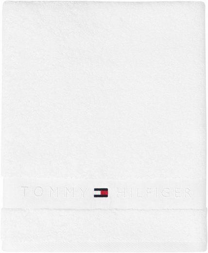 TOMMY HILFIGER Badetuch »Frotteeuni« (1-St), in vielen Farben erhältlich