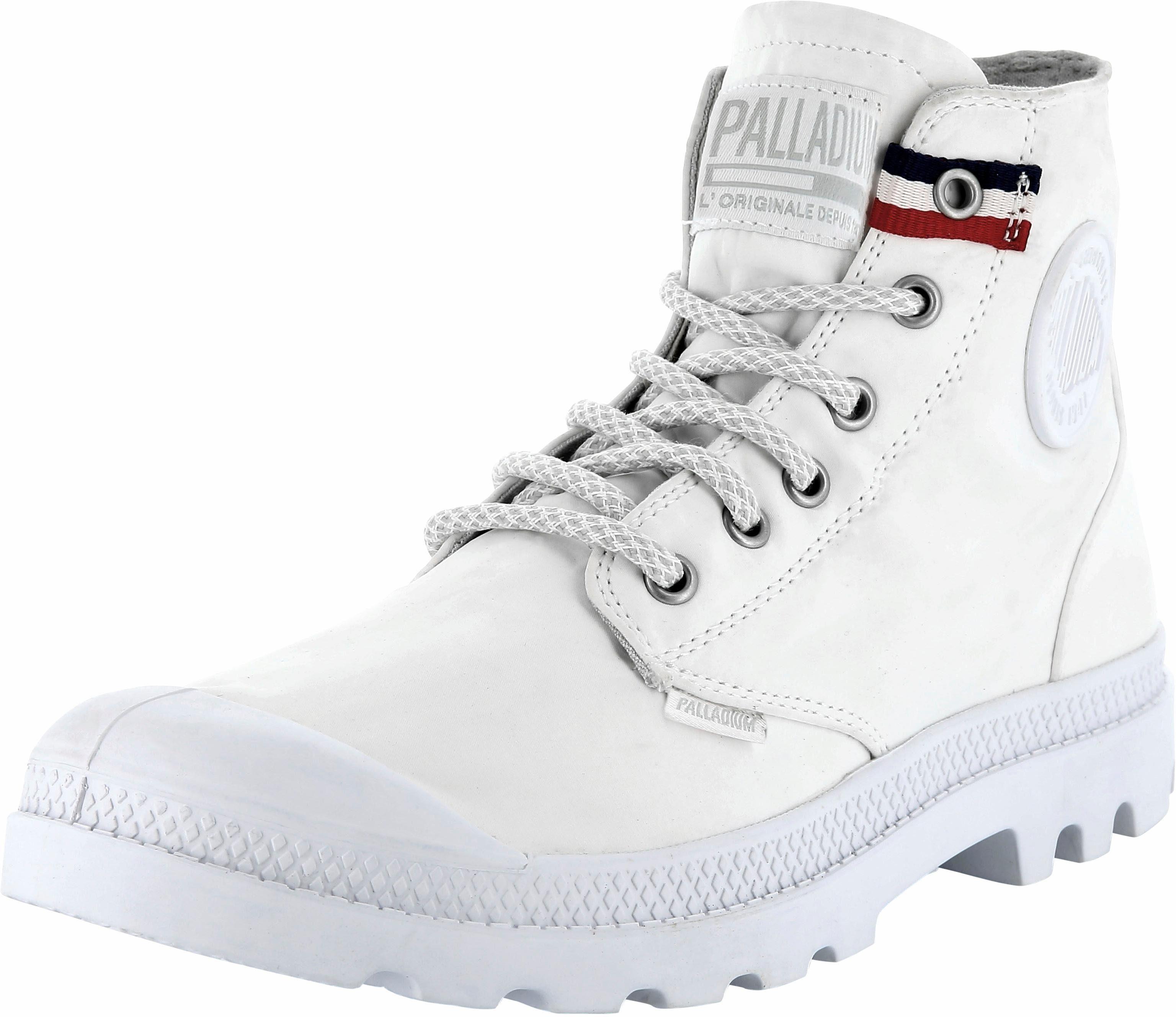 Palladium Pampa Hi Rive Gauche Ankleboots kaufen  weiß